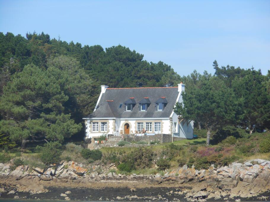 Maison en bord de mer villas louer saint philibert bretagne france - Maison bretagne bord de mer ...
