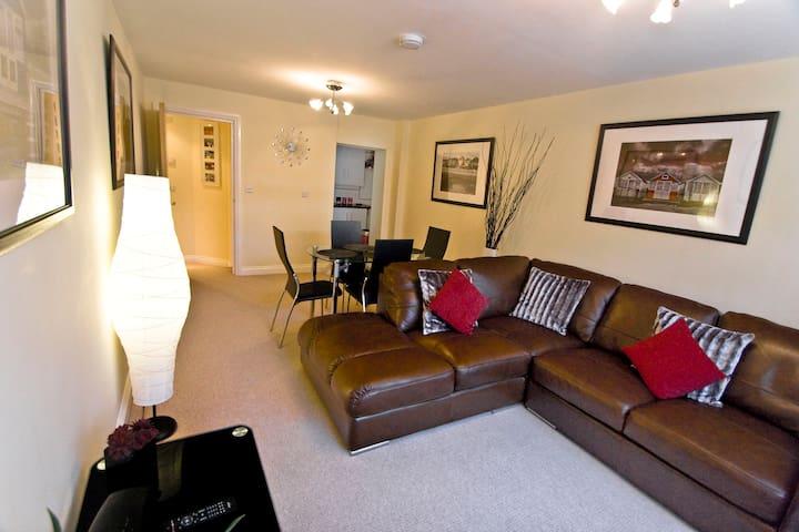 Boscombe-Reef-Retreat - luxury apartment nr beach - Bournemouth - 公寓