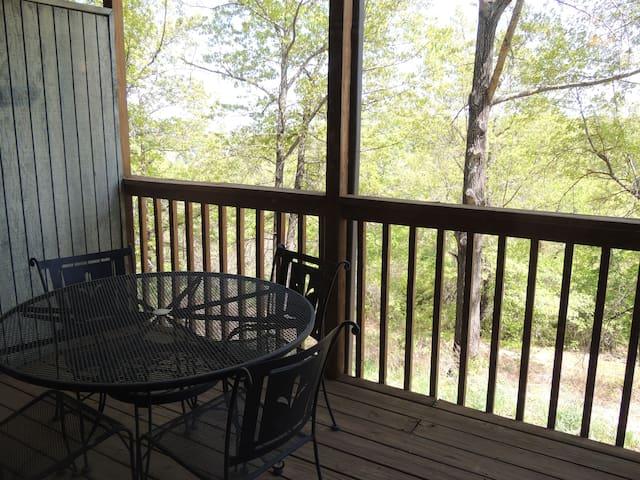 Cozy Cabin Notch Estates Bldg 6 Condo 2 - Reeds Spring - Társasház