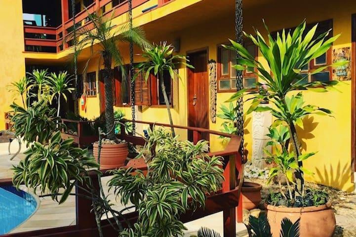 Área comum do Residencial Villa Cris