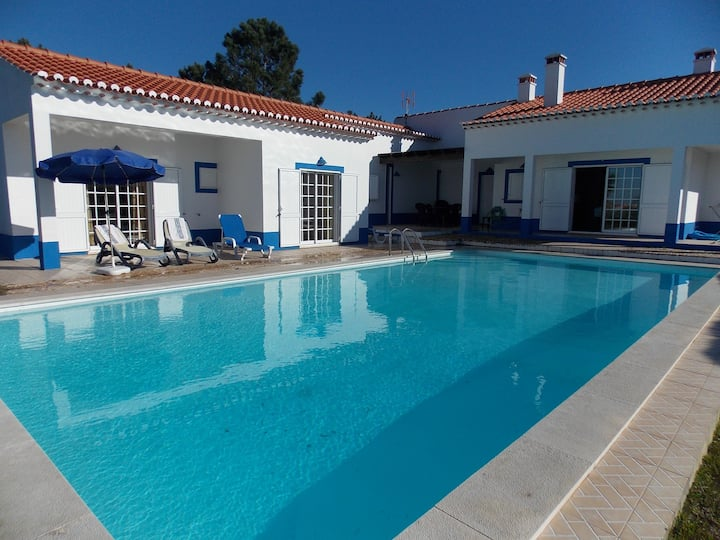Lovely holiday home with large pool