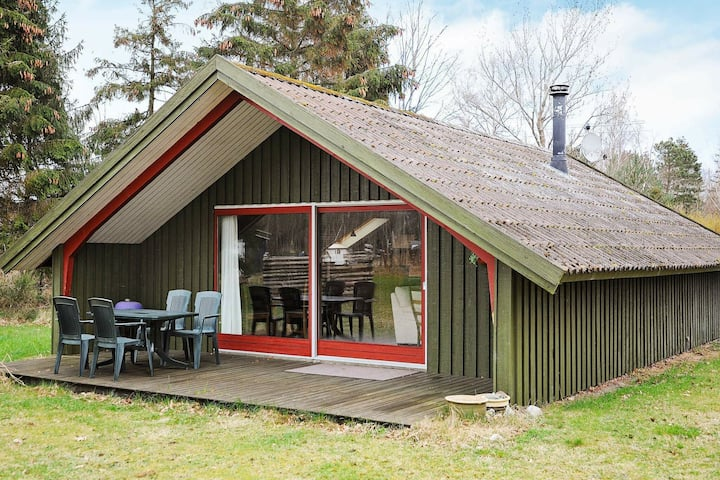 Vintage Holiday Home in Martofte with Terrace