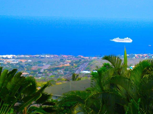 Private Oasis & Stunning Ocean View - Kailua-Kona - Ev