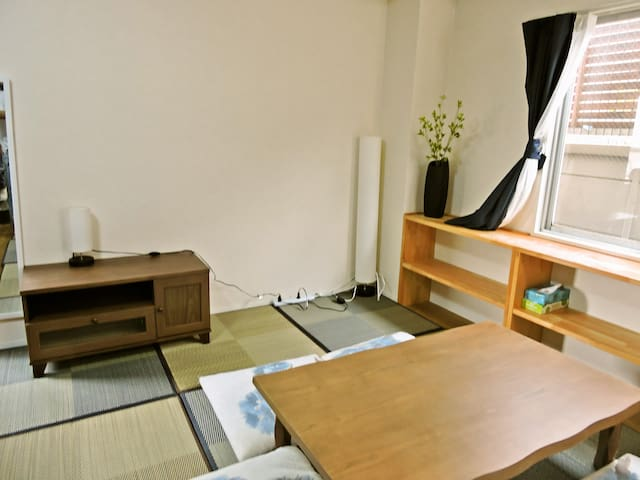JP style Tea ceremony Guest house for family