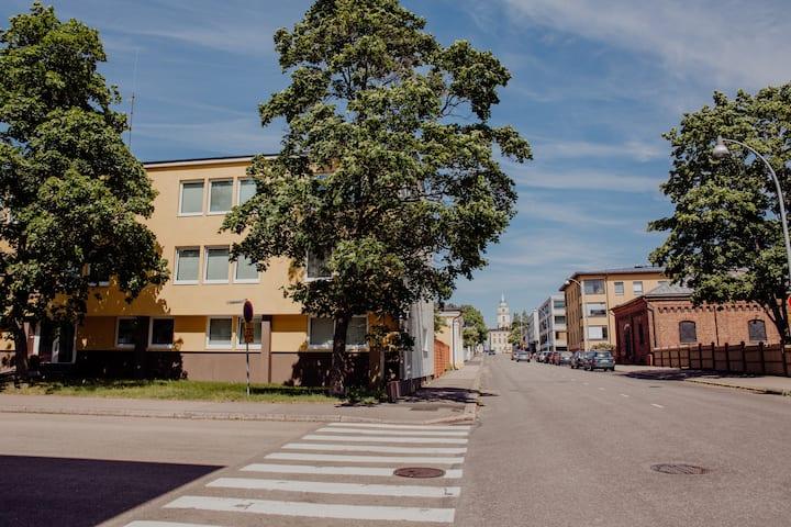 Hamina CityApartments, One bedroom&Livingroom
