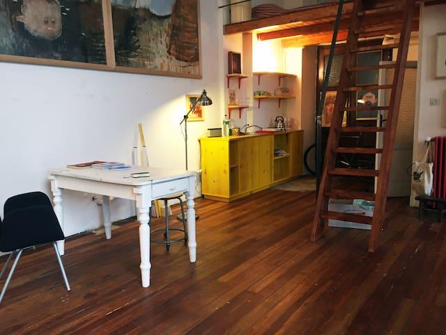 Artist's atelier by the central Sempione Park - Milán - Loft