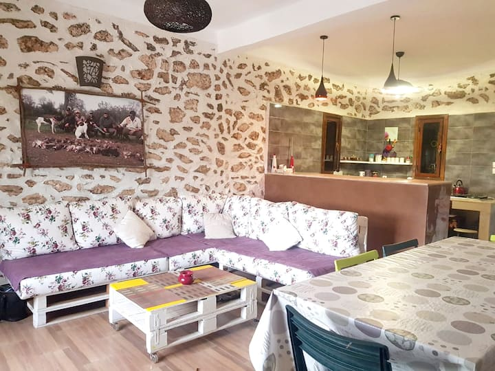 House with 2 bedrooms in El Jadida, with wonderful mountain view, enclosed garden and WiFi - 25 km from the beach