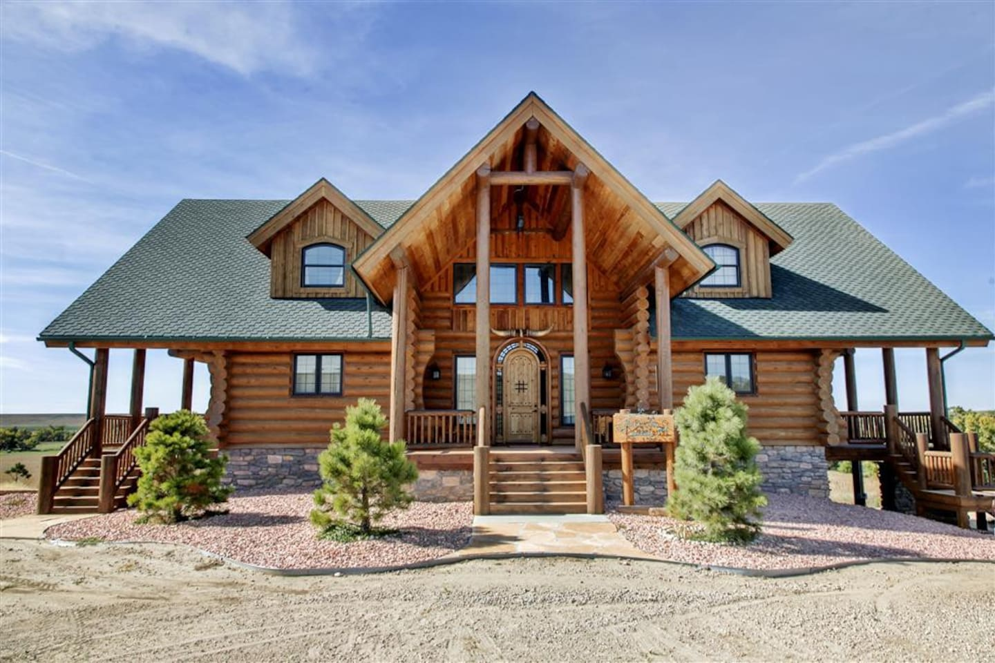 Escape the stresses of daily life at this this mesmerizing Atwood vacation rental cabin!