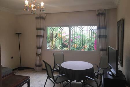 Beach Side Cozy 2 bedrooms Villa Ref 1082 - Agadir - Villa