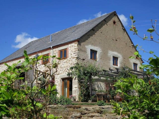 Holiday Gite In the Southern Loire, Central France - Crozon-sur-Vauvre - House