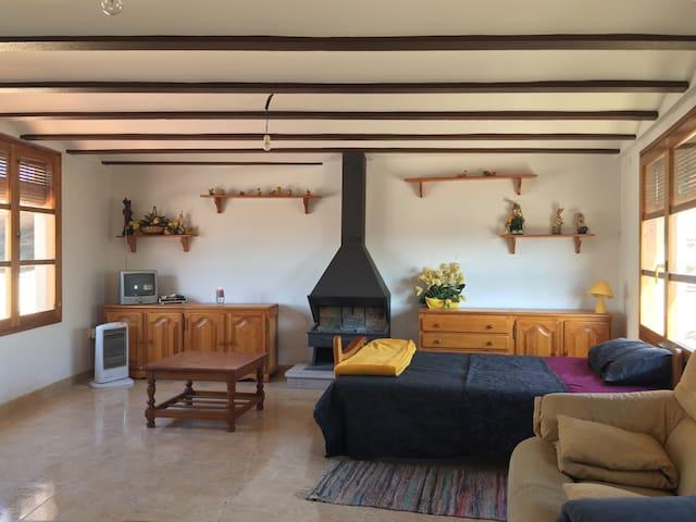 Casa rural céntrica para grupos o familias
