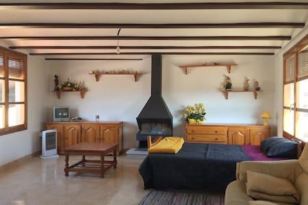 Casa rural céntrica para grupos o familias - Calaceite - Дом