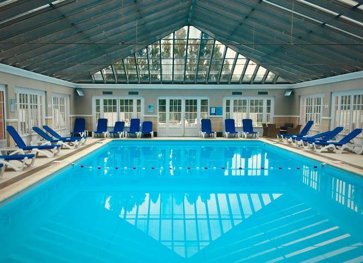 Appartement 6 pers avec piscine et court de tennis