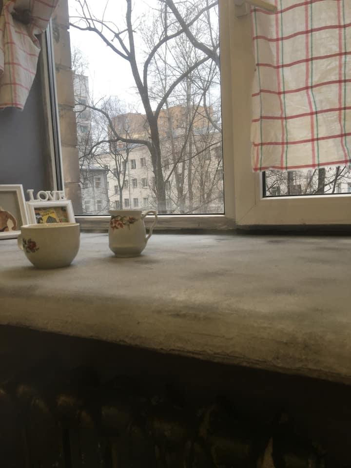 Комната на Достоевской, центр, рядом с метро.