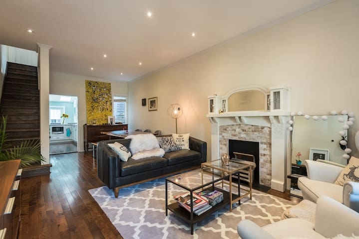Stunning Victorian Home at DT with a Private Yard