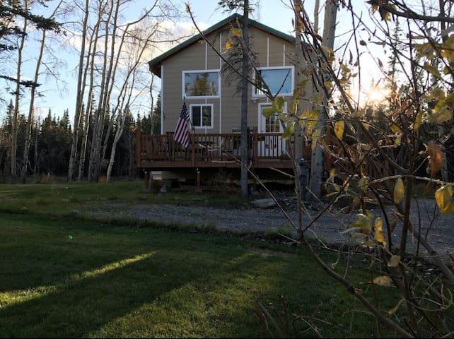 Beautiful cabin near Denali national Park.