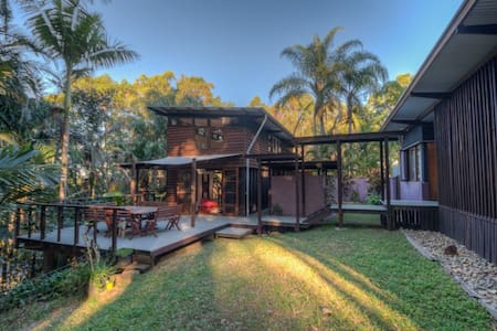 Bush & Beach Retreat - Lizard Lodge - Verrierdale