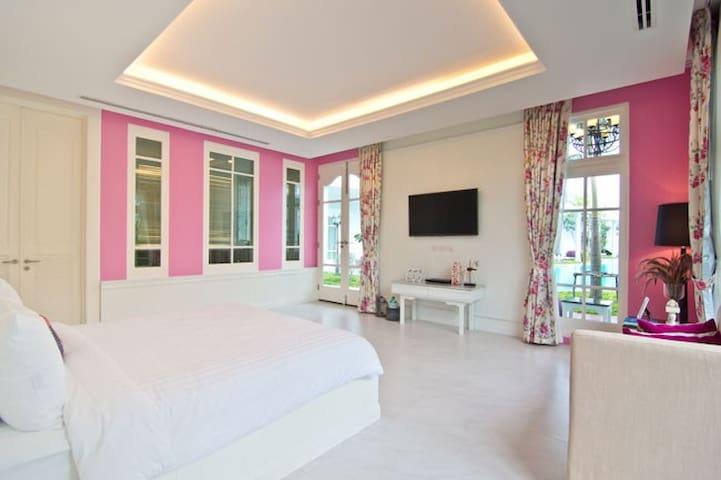 84sqm Deluxe Pool Access @ Sea-cret Garden - Tambon Nong Kae - Apartament