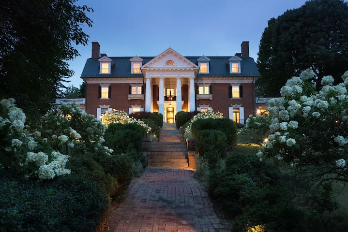 Romantic B&B Room in Georgian Mansion - Mercersburg - Bed & Breakfast