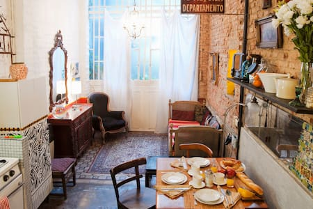 Artsy 2-Bdrm in Heart of San Telmo - 布宜諾斯艾利斯