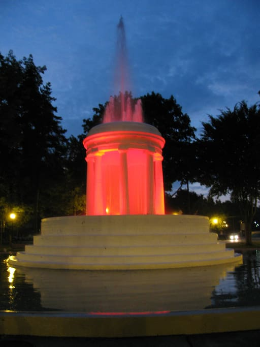 Our towns fountain park