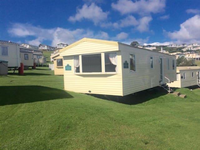 Economy Caravan on Devon Cliffs Holiday Park