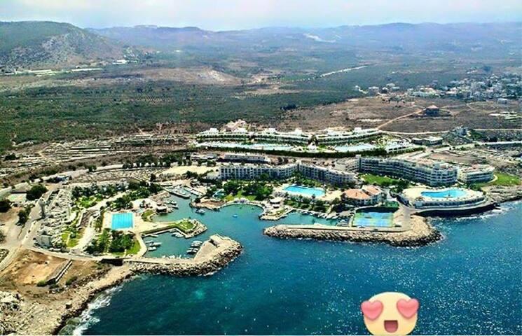 General View of resort