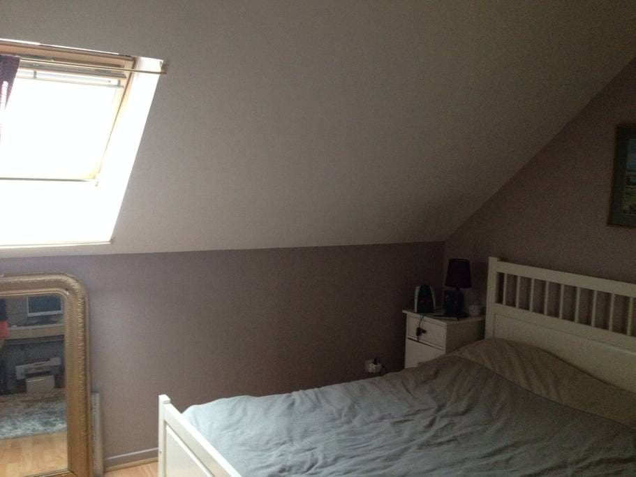 1 chambre lit 2 pers, 2 chambres lits 1 pers