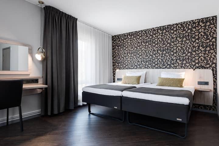 Dubelrum/familjerum i ett 4 stjärnigt hotell