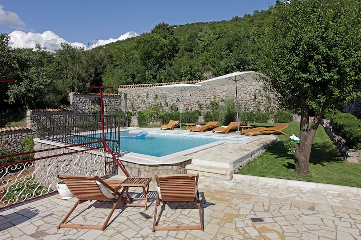 House for 4+2 pers with pool in Ledenice R32150