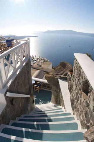 Superior Rock House - Santorini - Talo