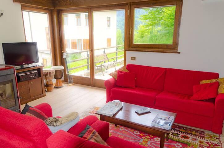 Geräumiges, komfortables Haus in den Dolomiten