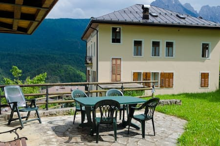 Large comfy house in the Dolomites - Venas - Talo