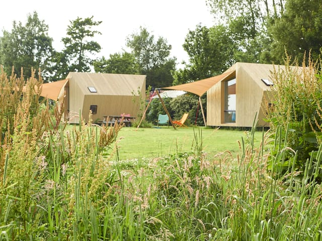 Glamping on cosy campsite Friesland - Kollumerpomp