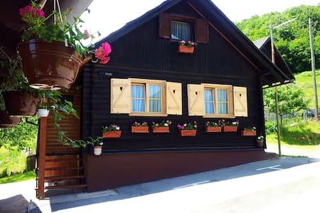 NP Plitvice, Wooden OAZA MIRA - Plitvička Jezera - Ξυλόσπιτο