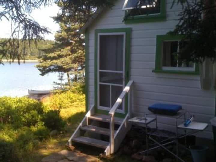Swans Island Maine Shorefront Cabin