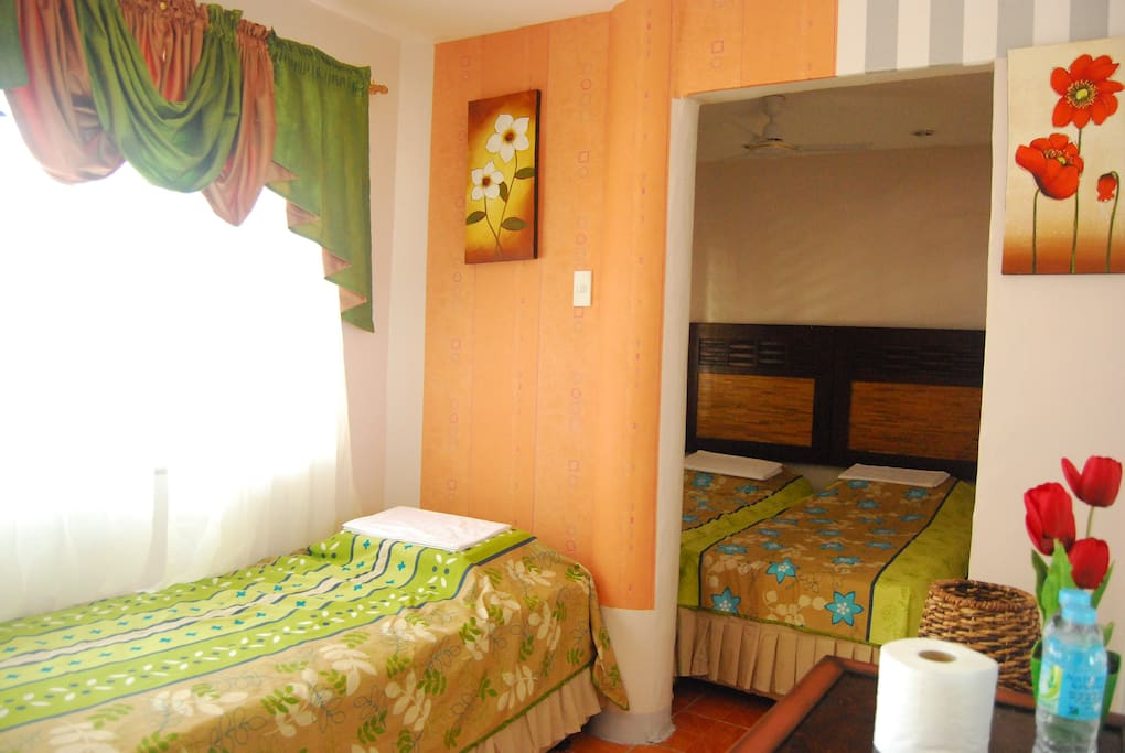 room with bedroom