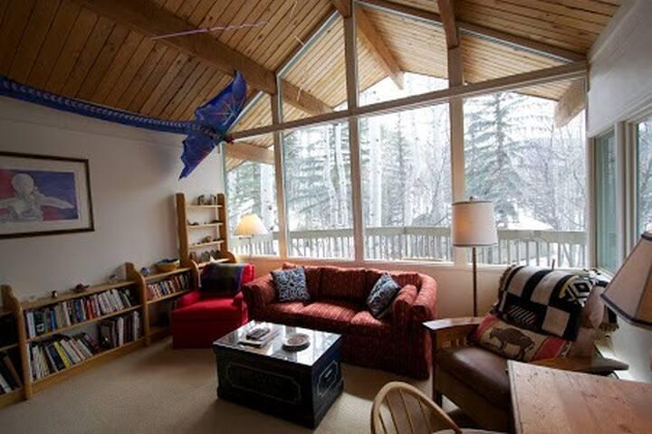 6BR/4BA Aspen Lodge, Private Deck, Mountain Views - Aspen - Vila