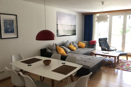 Modern 100sqm City Appartment - Huoneisto