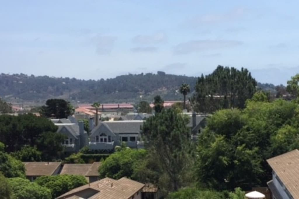 View of the Del Mar Race Track.  In walking distance.