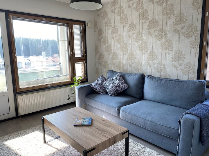 ★★★★★ Stylish condo with SAUNA, incl. parking