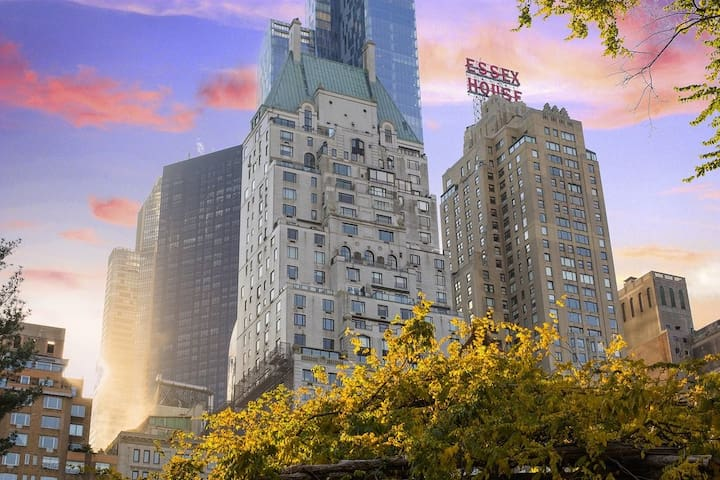 Central Park Condo located inside Luxury Hotel
