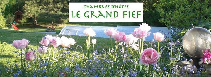 Chambres d'hôtes LE GRAND FIEF Ch 1