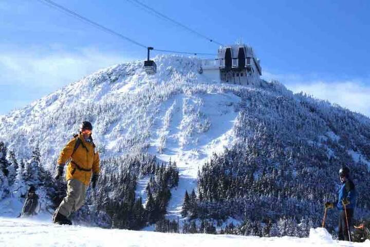 Jay Peak Slopeside Condo - ski-in ski-out