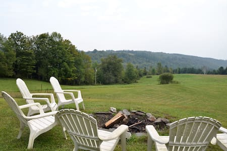 Big Beautiful Private Vermont Home - East Calais - Rumah