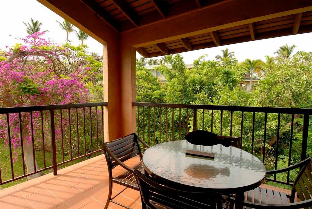 Wailea Ekahi 4E - Tropical Garden View from the lanai