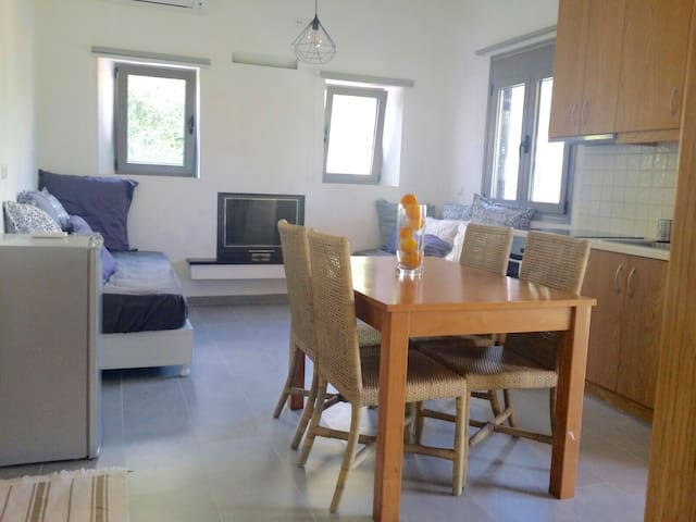 New comfortable 1bedroom apartment - Καϊάφας - Appartement