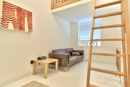 contemporary art loft downtown [7] - Seattle