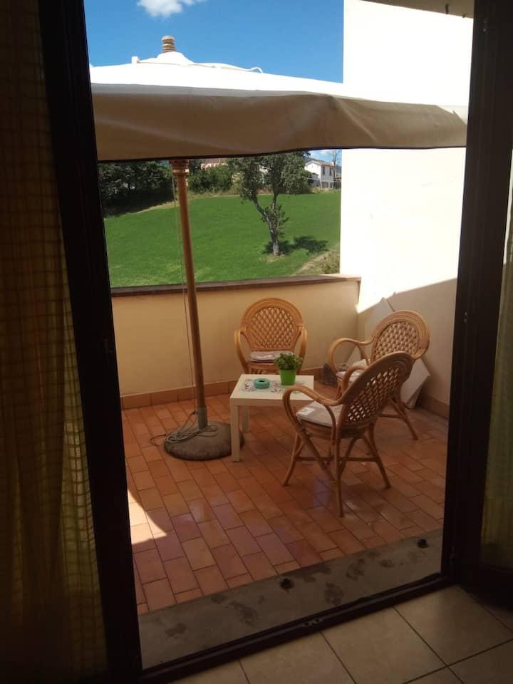Schöne Ferienwohnung im Herzen von Italien