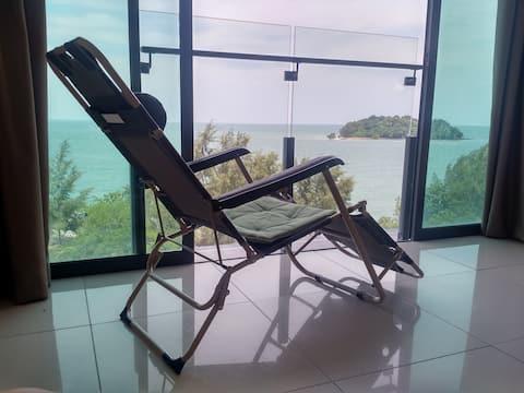 Cozy Seafront Apartment( 温馨听海小屋)@Port Dickson